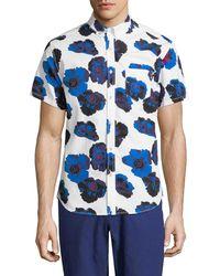 Life After Denim - Poppy Floral Shirt - White - Lyst