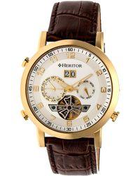 Heritor - Men's Edmond Watch - Lyst