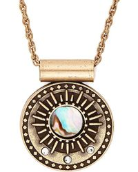 ALEX AND ANI - Gold Midnight Sun 32 In Necklace - Lyst