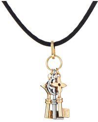 Louis Vuitton - Louis Vuitton 18k Two-tone 35in Necklace - Lyst