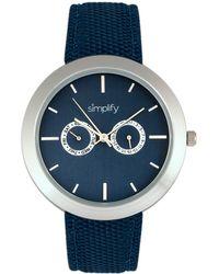 Simplify - Unisex The 6100 Watch - Lyst