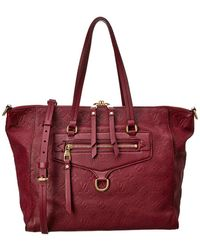 Louis Vuitton - Aubergine Monogram Empreinte Leather Lumineuse - Lyst