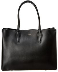 Lanvin - Journee Medium Leather Shopper Tote - Lyst