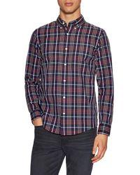 Jack Spade - Macdowell Tartan Sport Shirt - Lyst