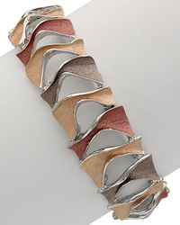 Sparkling Sage - Silver Plated Resin Stretch Bracelet - Lyst
