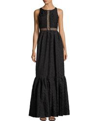 Zac Zac Posen - Zarya Embroidered Gown - Lyst