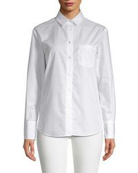 White Story - Button-down Shirt - Lyst