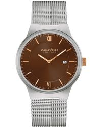 Caravelle NY - Bulova Men's Stainless Steel Watch - Lyst