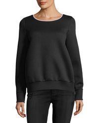 Y-3 - Contrast Trim Sweater - Lyst