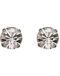 Loren Hope - 18k Plated Crystal Studs - Lyst