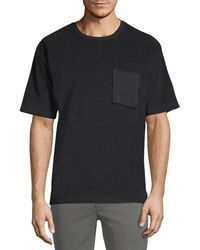 ATM - Terry Oversized Crew Neck T-shirt - Lyst