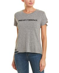 Wildfox - Cyberspace T-shirt - Lyst