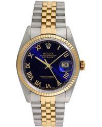 Omega - Rolex 1960s Men's Datejust Watch - Lyst