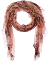 Gucci - Blooms Print Cashmere & Wool-blend Scarf - Lyst