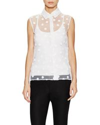 Ji Oh - Sleeveless Top - Lyst