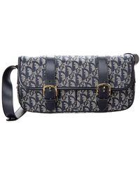 839857b0b0c0 Lyst - Dior Pink Trotter Canvas Shoulder Bag in Pink