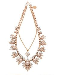 Ellen Conde - Khloè Rose Gold Necklace - Lyst