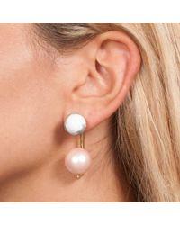 Leivan Kash - Anya Gold Earring - Lyst