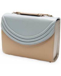 Lauren Cecchi New York | Mezzo Leather Shoulder Bag | Lyst