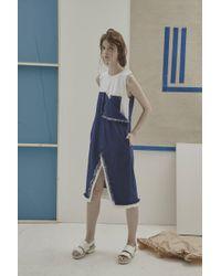 Jamie Wei Huang - Boyoun Contrast Dress - Lyst