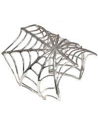 Bernard Delettrez - Web Silver Cuff - Lyst