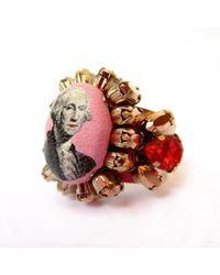 Bijoux De Famille - Funky Dollar Ring - Lyst