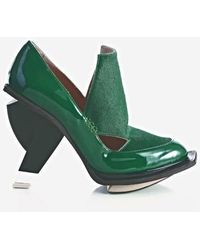 Abcense - Val Green Court Shoes - Lyst