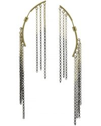 Caterina Zangrando - Two Tone Lily Earrings - Lyst