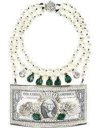 Bijoux De Famille - Million Dollar Plastron Necklace - Lyst