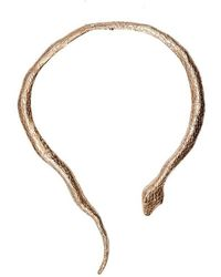 Bernard Delettrez - Snake Gold Necklace - Lyst