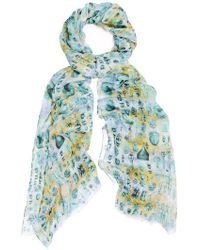 Kekkai - Ancient Reflections 2 Cashmere Blend Scarf - Lyst