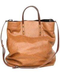 Dries Van Noten - Oversized Leather Bag - Lyst