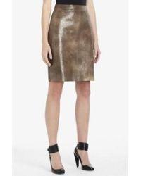 1685bbb621 BCBGMAXAZRIA - Leather Iguana Embossed Skirt Irr3c783 - Lyst