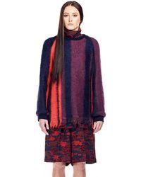 Dries Van Noten - Columbia Fringe Knitted Jumper - Lyst