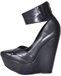 BCBGMAXAZRIA - Max Azria Runway Black Wedge 'nayoko' Shoes - Lyst