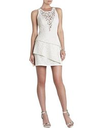 BCBGMAXAZRIA - Hanah Sleeveless Asymmetrical-hem Dress - Lyst
