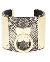 BCBGMAXAZRIA | Bcbg Maxazria Icon Ring Cuff Bracelet | Lyst