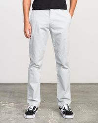 RVCA - Stay Chino Pants - Lyst