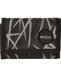 38312519c15 Lyst - Rvca Card Wallet in Black for Men