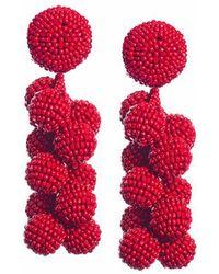 Sachin & Babi - Coconuts Earrings | Scarlet - Lyst