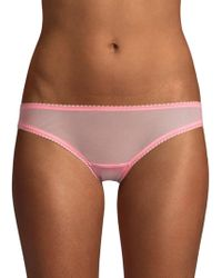 On Gossamer - Mesh Bikini Knickers - Lyst