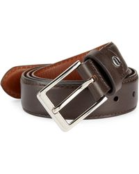 Shinola - Bomb Beta Leather Belt - Lyst