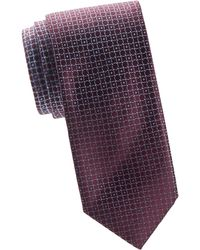 Brioni - Lifesaver Print Silk Tie - Lyst