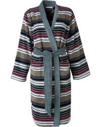 Sonia Rykiel - Rue De Seine Striped Robe - Lyst