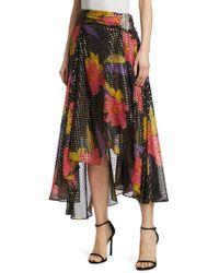 Dodo Bar Or - Floral Print Asymmetric Skirt - Lyst