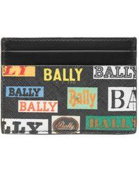 Bally - Bhar Multi-logo Card Case - Lyst