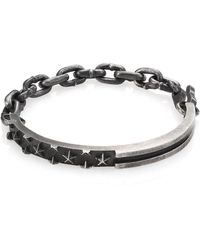 King Baby Studio | Sterling Silver Star Engraved Bracelet | Lyst