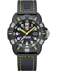 Luminox 44mm Sea Series Coronado 3025 Watch Yellow - Multicolour