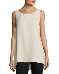 Lafayette 148 New York - Ruthie Hi-lo Blouse - Lyst