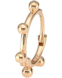 Kismet by Milka - 14k Rose Gold Single Hoop Earring - Lyst